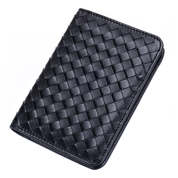 1148 72975a72e68e69df0bd4c4b95ed252f5 600x600 - Fashion Handmade Knitted Genuine Leather Passport Cover