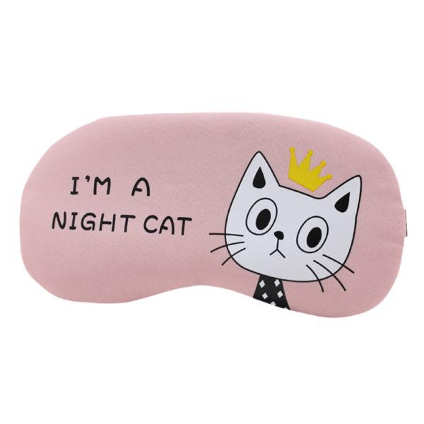 1212 22d2a1cab59e675f67cc11e4ca99f9c3 600x600 - Flannel Eye Sleeping Mask Cat Print