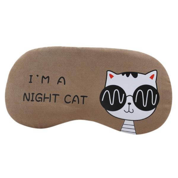 1212 c9d43e102d216f4ccd492429d577eba7 600x600 - Flannel Eye Sleeping Mask Cat Print