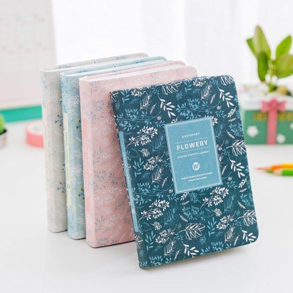 1330 02f375c8baec84dad26ea8d29c994e02 600x600 - Lovely Floral Patterned Journal
