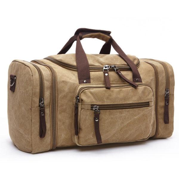 1374 20d7d6e2263894eba12670bd43aaefd7 600x600 - Canvas Men's Travel Bag