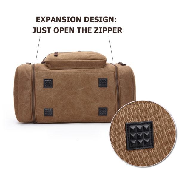 1374 9d0df36d1de5355993d8b09b582e9cf6 600x600 - Canvas Men's Travel Bag