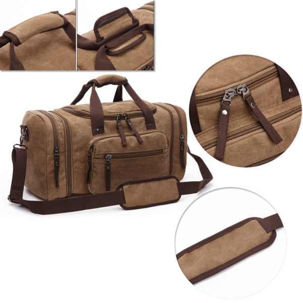 1374 c5dbf134b97015782efa6f6dcc76597a 600x600 - Canvas Men's Travel Bag
