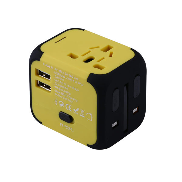 640 47edddf445ad3fb8345230fe7b5086d4 600x600 - Universal Travel Plug Adapter with Dual USB