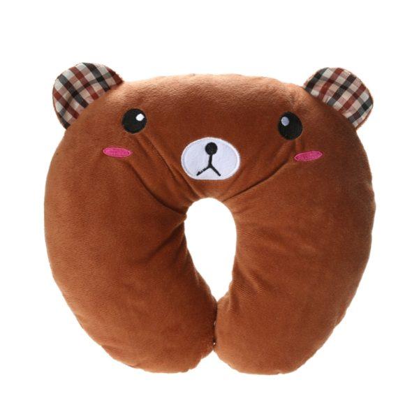 667 7957ce88b5805383042074f308797b9e 600x600 - Cartoon Animal U-Shaped Travel Neck Pillow