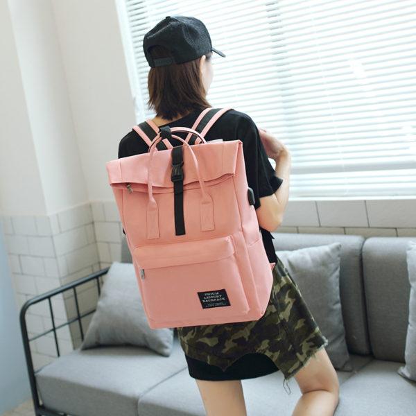 724 c03d21367a04f8d13f6b4f70af31fb41 600x600 - Women's Sport Style Travel Backpack