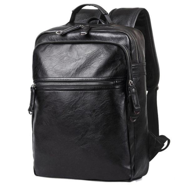 755 0b3072f639fa46b46badda8b51904da3 600x600 - Men's Leather Travel Backpack