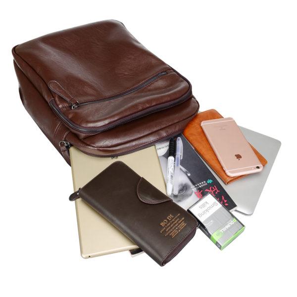 755 aef0571d42c2a4bd76c3c1b856a99c8f 600x600 - Men's Leather Travel Backpack