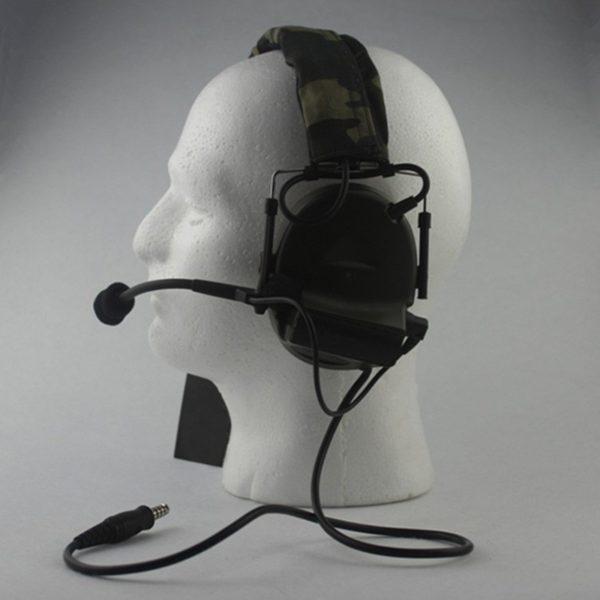933 e1dca3ec57b79b6b509f4a34be9655b3 600x600 - Tactical Noise Canceling Headphones