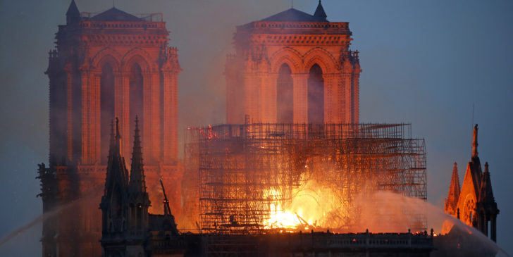 1577998902 728x365 - Report: Notre Dame Cathedral has only a 50% chance of being entirely saved